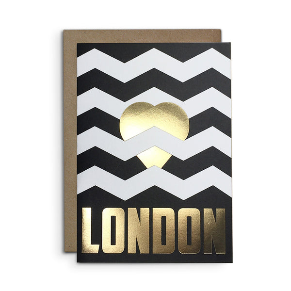 Heart London card