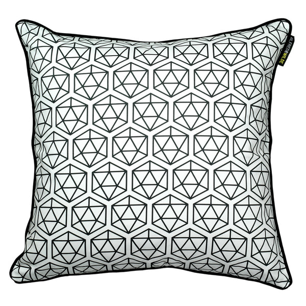 Icosahedron cushion cover