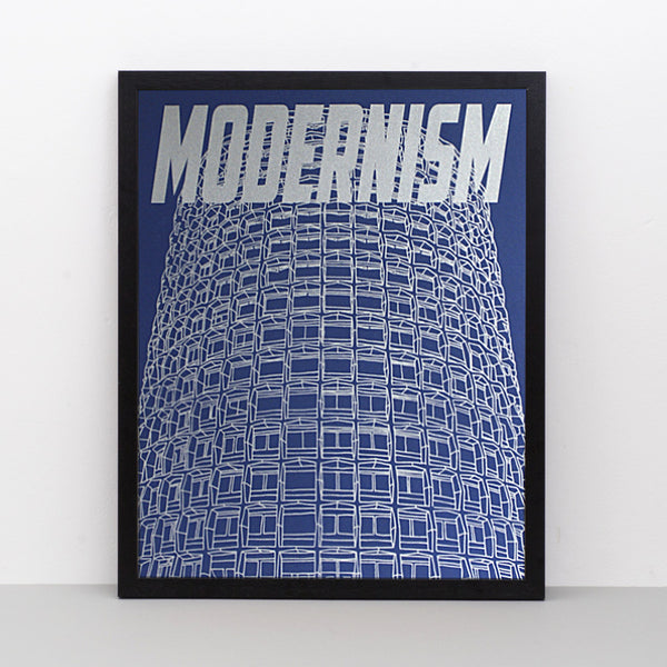Modernism limited edition screen print