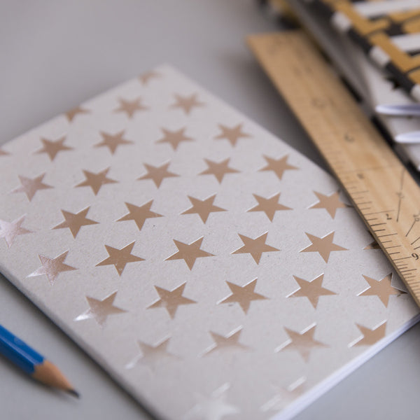 Silver Stars notebook