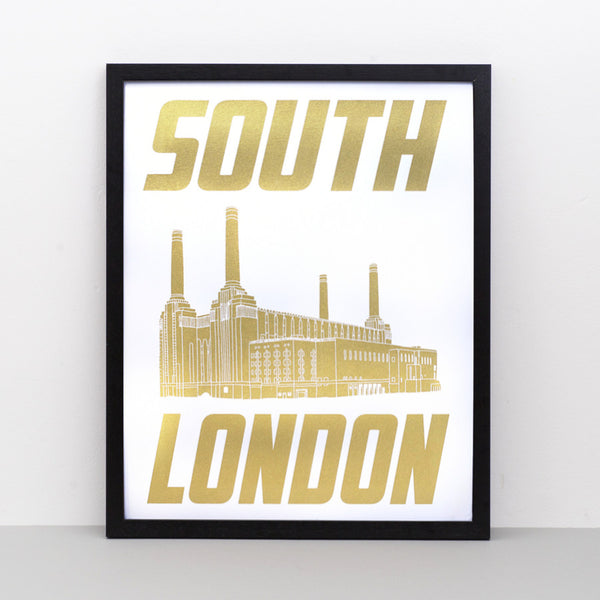 South London screen print