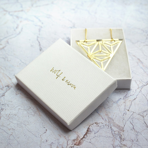 Gold Tetra necklace