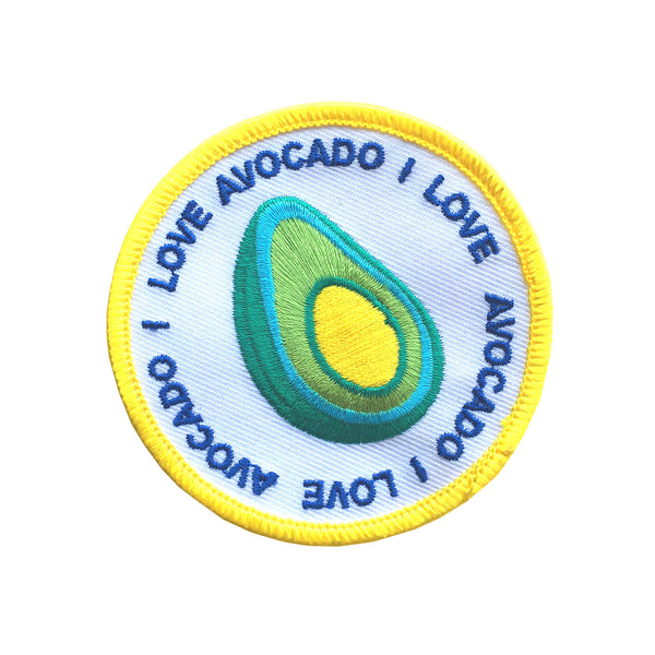 I Love Avocado patch