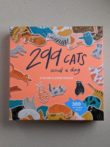 299 Cats and A Dog, Jigsaw Puzzle - The Stationery Cupboard