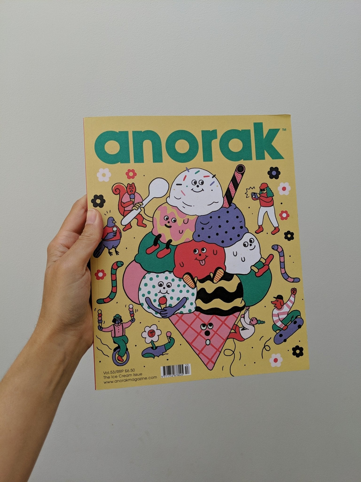 Anorak - Vol 53 - The Stationery Cupboard