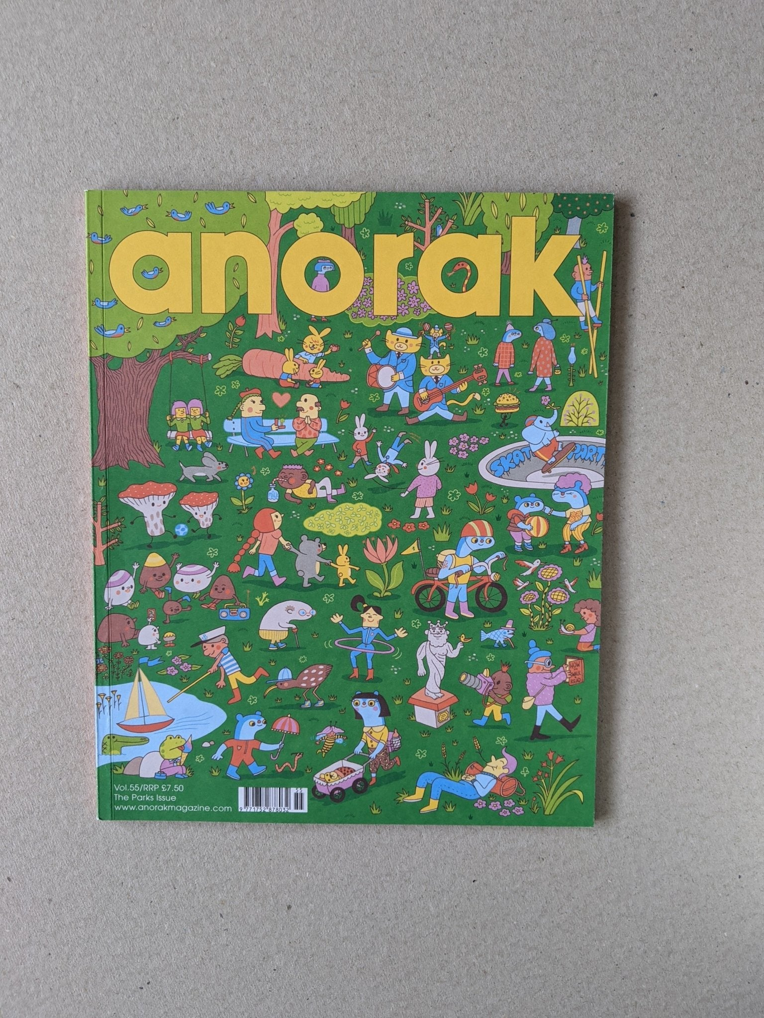 Anorak - Vol 55 - The Stationery Cupboard