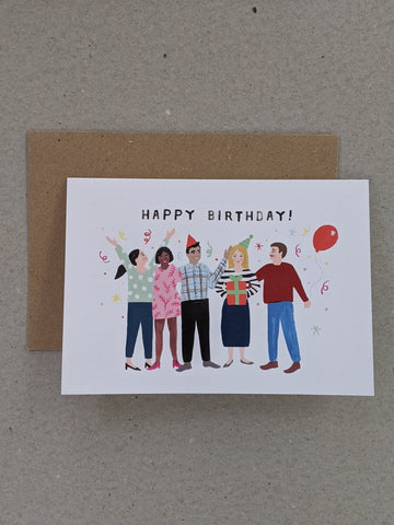 Birthday Greeting Card - The Stationery Cupboard