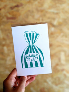 Birthday treats card - The Stationery Cupboard