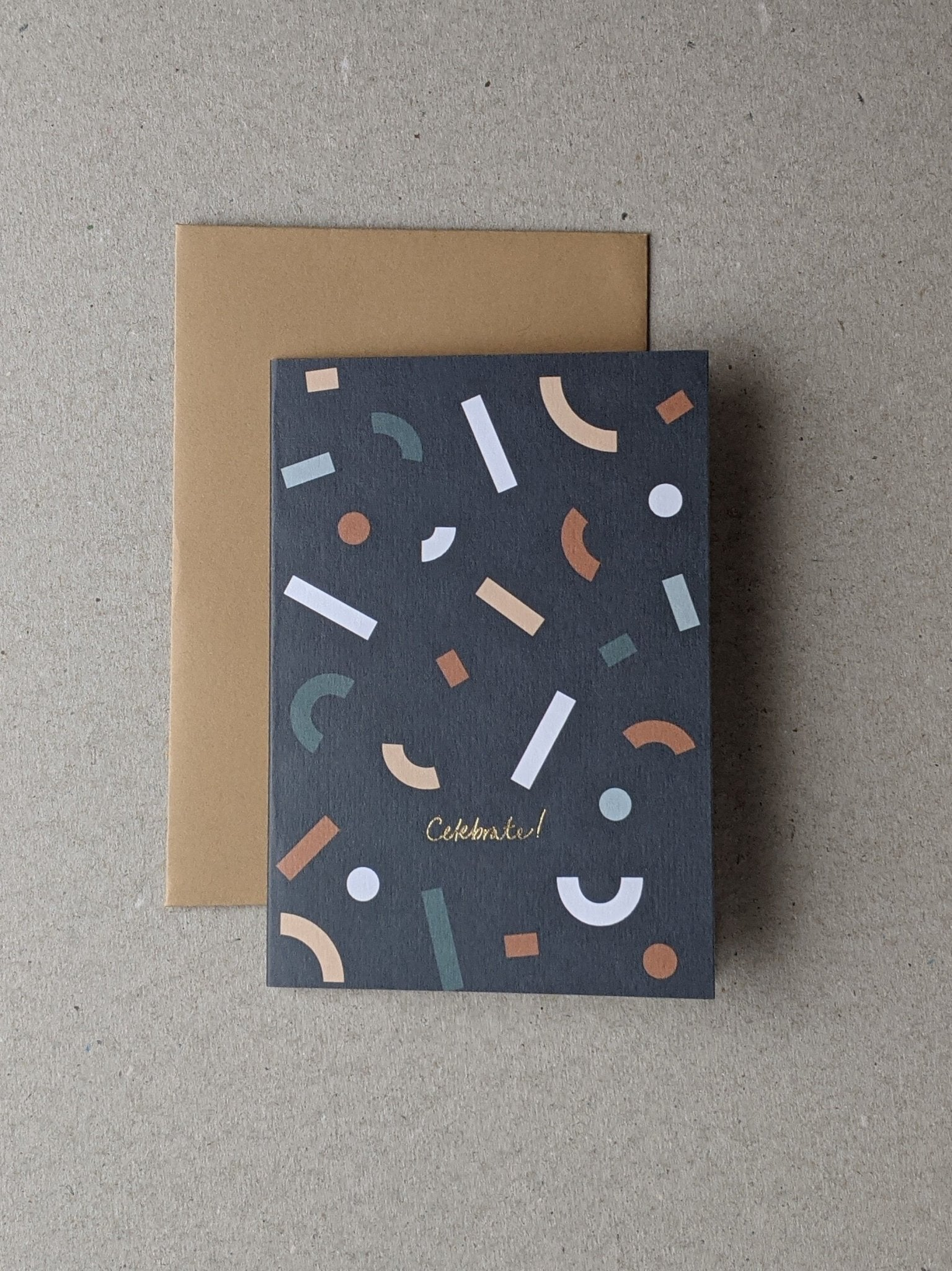 Celebrate Greetings Card - The Stationery Cupboard