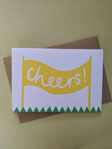 Cheers! card - The Stationery Cupboard