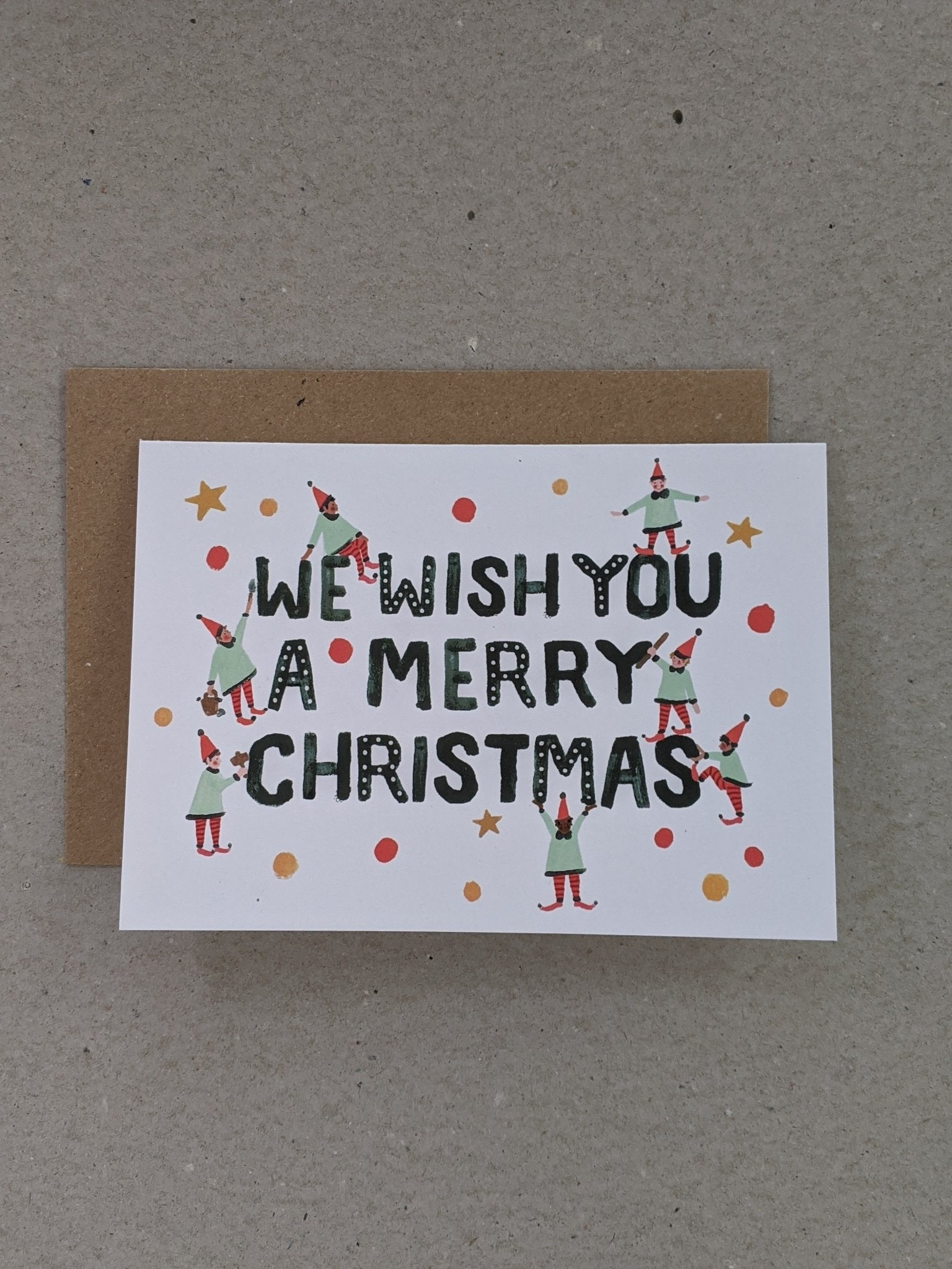 Christmas Wish Greeting Card - The Stationery Cupboard