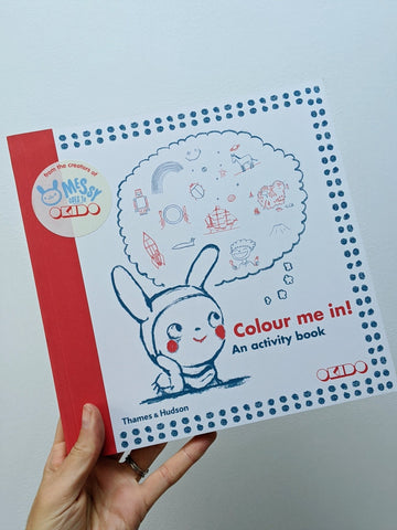 Colour Me In! An activity book - by Okido - The Stationery Cupboard
