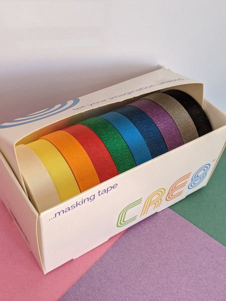 Coloured paper tape - The Stationery Cupboard