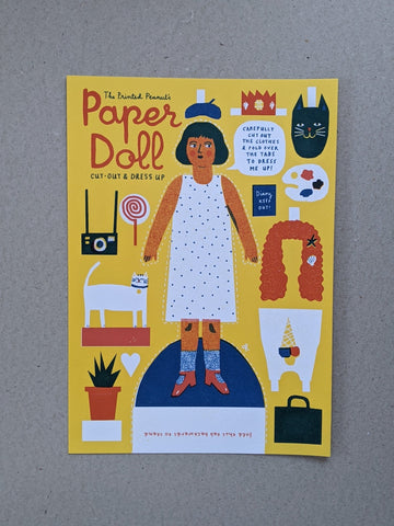 Cut out & dress up paper doll - The Stationery Cupboard