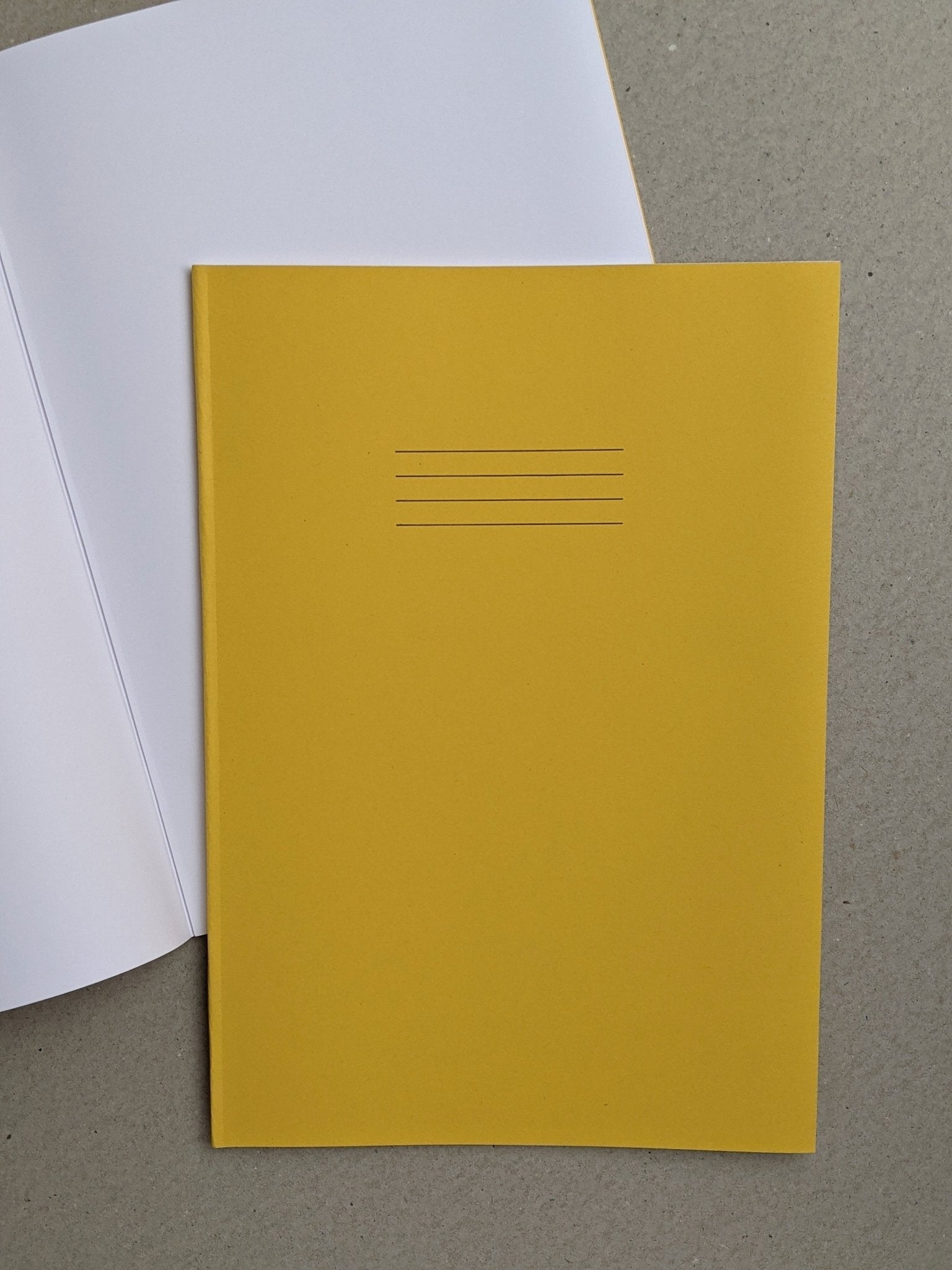 Exercise Book - A4 Blank - The Stationery Cupboard