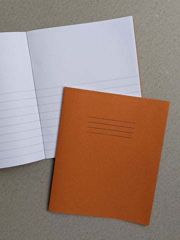 Exercise Book - Blank & Ruled - The Stationery Cupboard