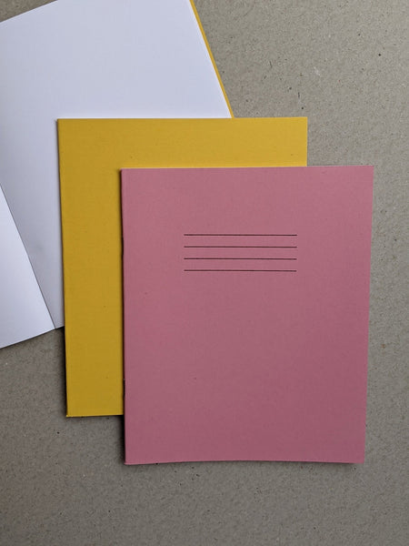 Exercise Book - Blank - The Stationery Cupboard