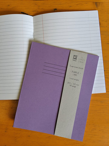 Exercise book - lined - The Stationery Cupboard