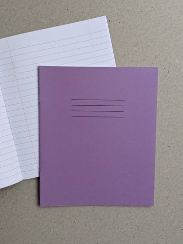 Exercise Book - Ruled & Margin - The Stationery Cupboard