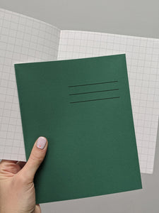 Exercise book - squared - The Stationery Cupboard