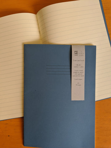 Exercise book - tinted - The Stationery Cupboard
