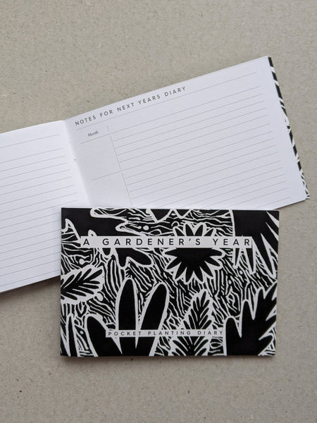 Gardener's year diary - The Stationery Cupboard
