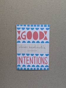 'Good Intentions' Pocket Notebook - The Stationery Cupboard