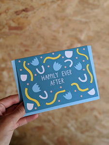 'Happily ever after' birthday card - The Stationery Cupboard