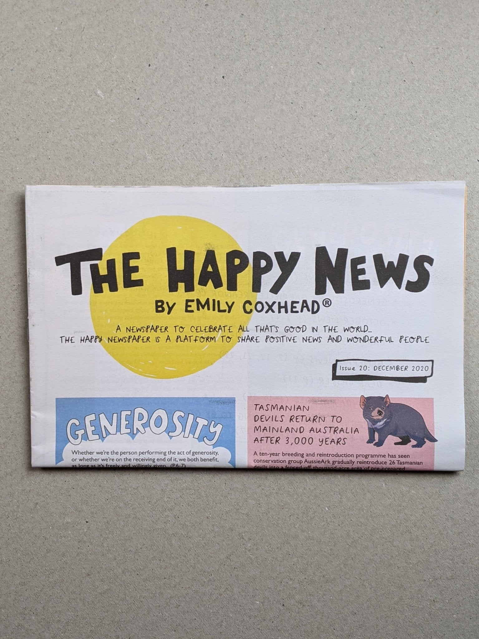 Happy News - Issue 20 - The Stationery Cupboard