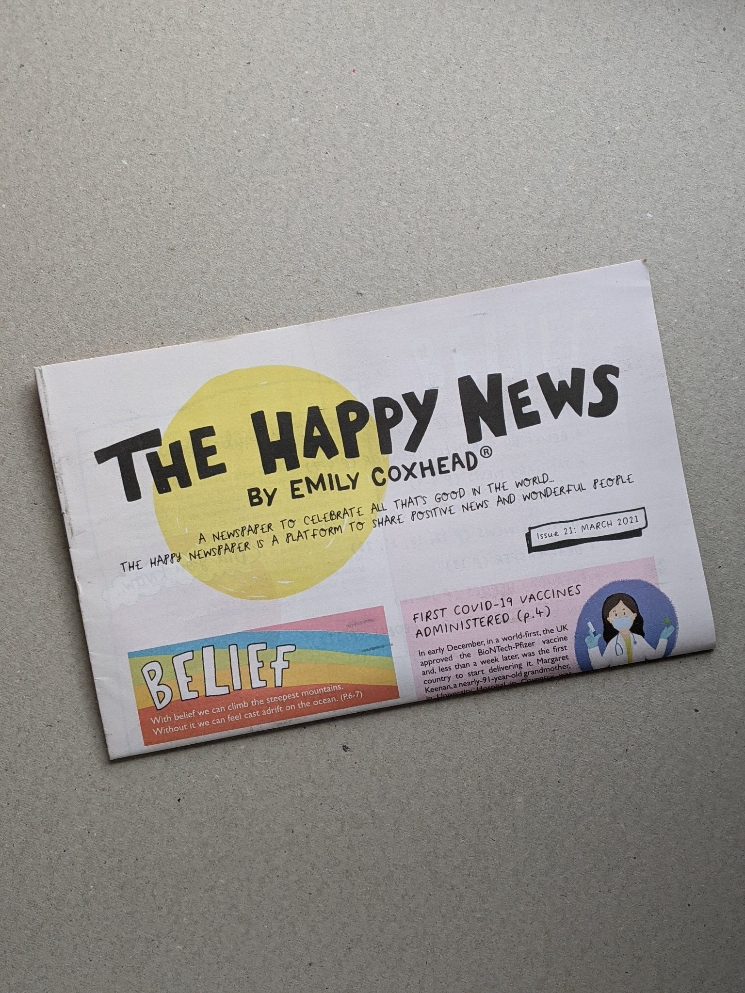 Happy News - Issue 21 - The Stationery Cupboard