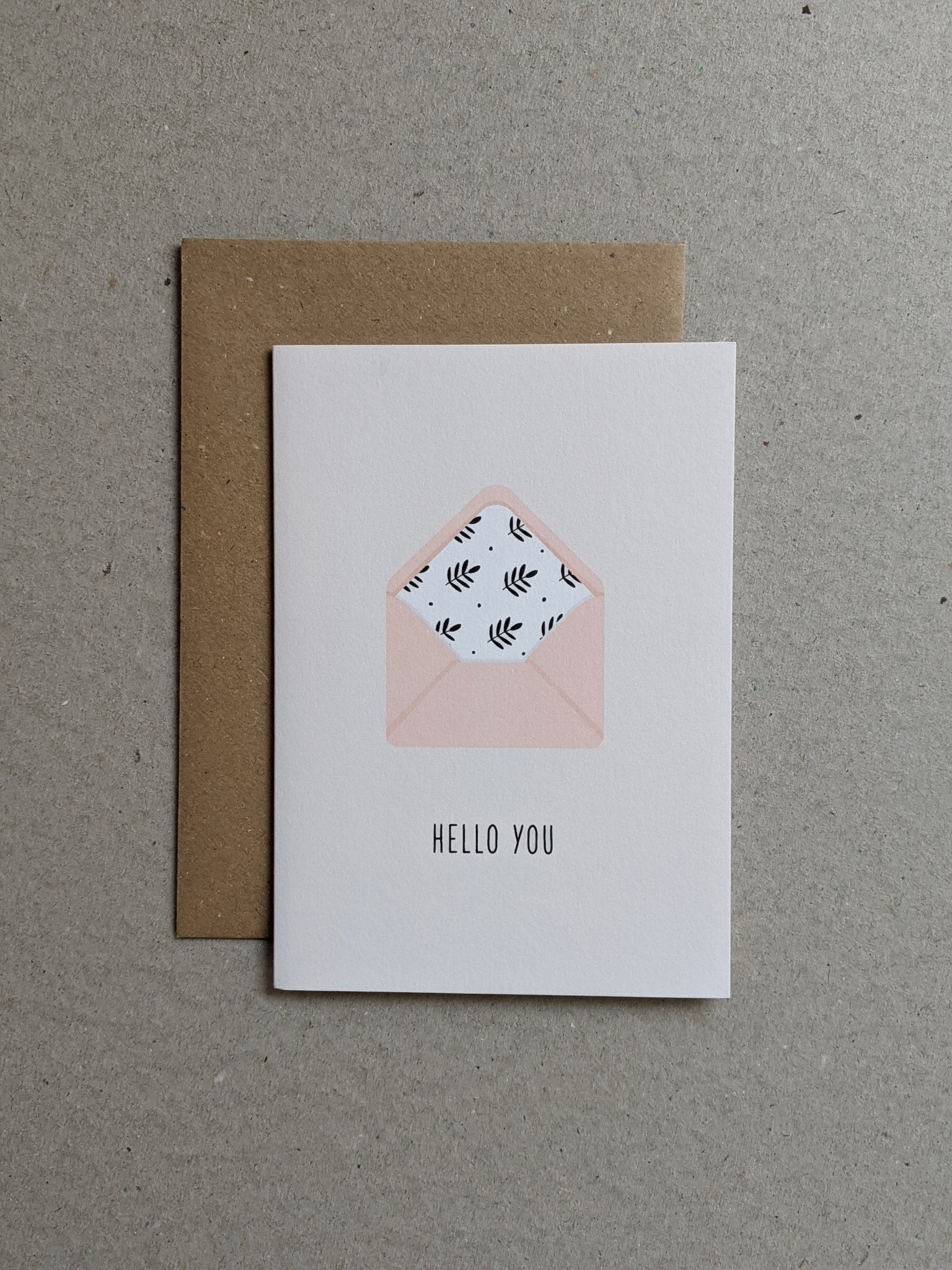 Hello You Greeting Card - The Stationery Cupboard