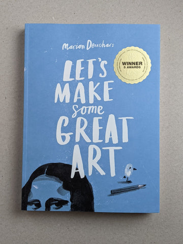 Let's Make Some Great Art - The Stationery Cupboard