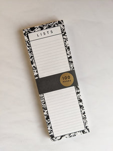 List pad - The Stationery Cupboard