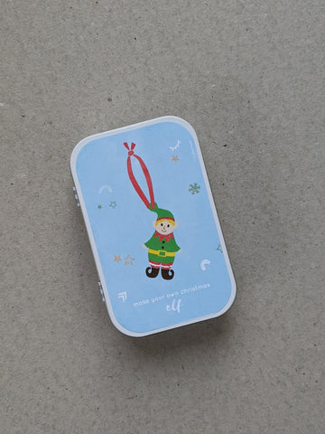 Make Your Own Christmas Decoration, Elf - The Stationery Cupboard