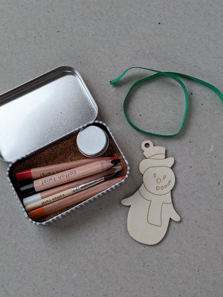 Make Your Own Christmas Decoration, Snowman - The Stationery Cupboard
