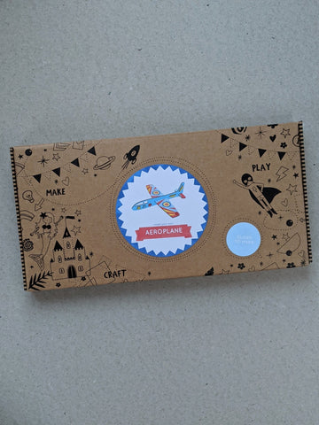 Make Your Own Glider Craft Kit Activity Box - The Stationery Cupboard