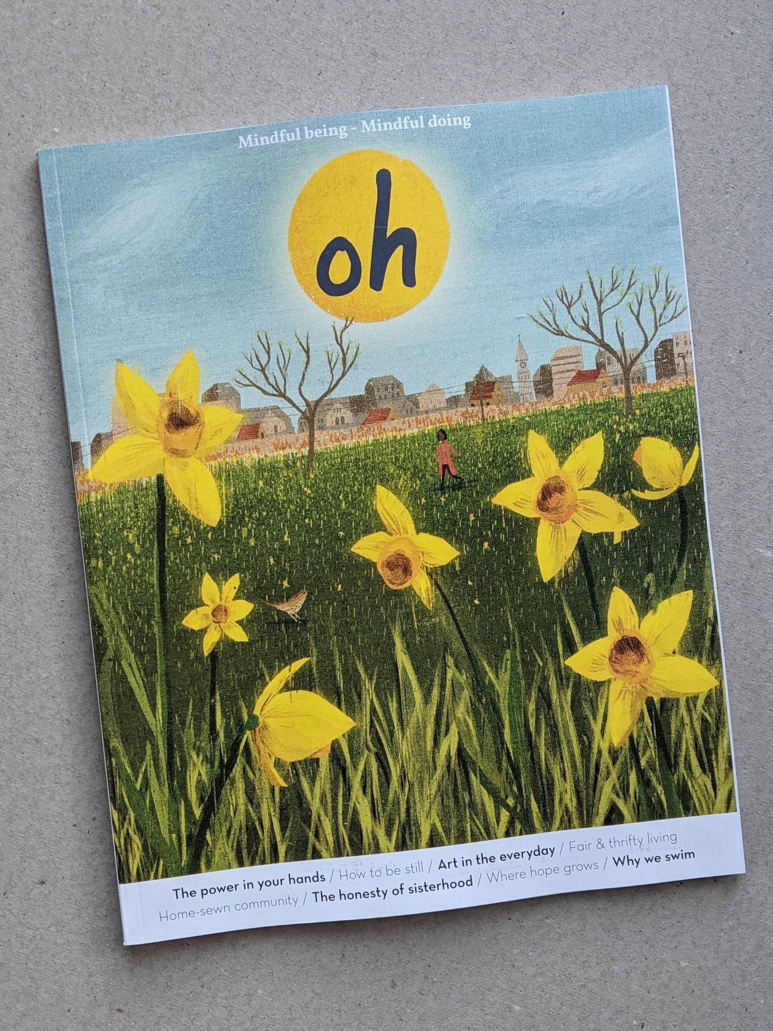 Oh magazine - issue 58 - The Stationery Cupboard