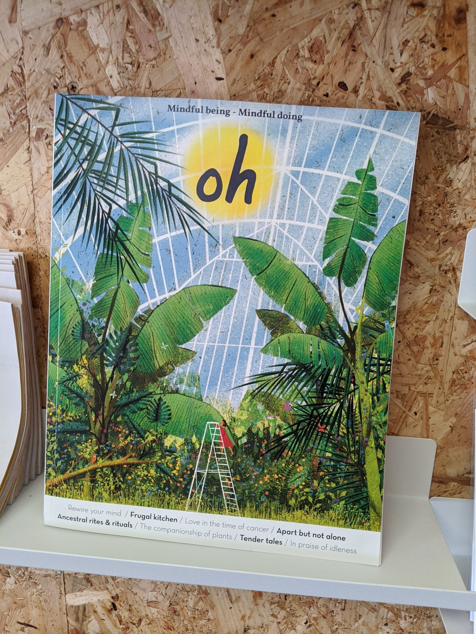 Oh magazine - The Stationery Cupboard