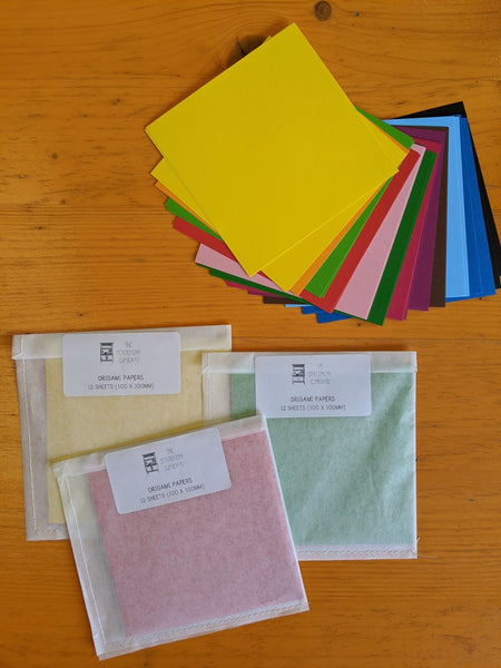 Origami papers - The Stationery Cupboard