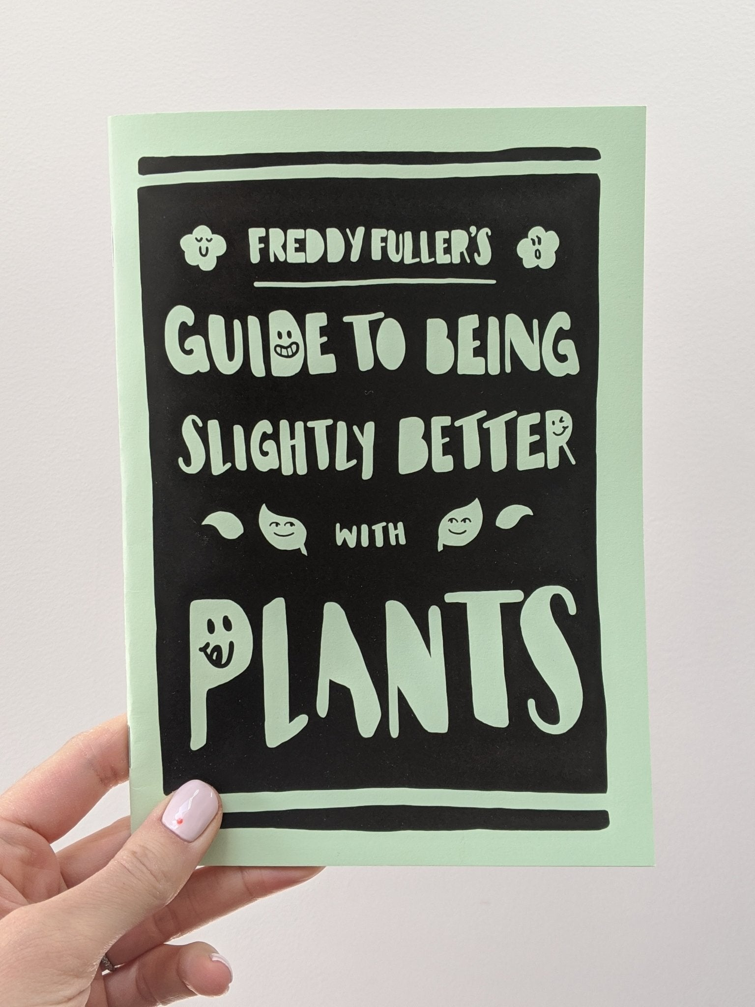Plants zine - The Stationery Cupboard