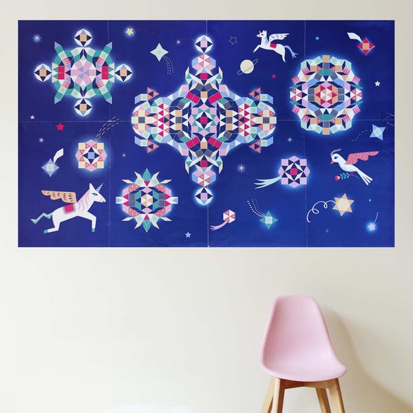 Poppik creative sticker poster - Constellation - The Stationery Cupboard