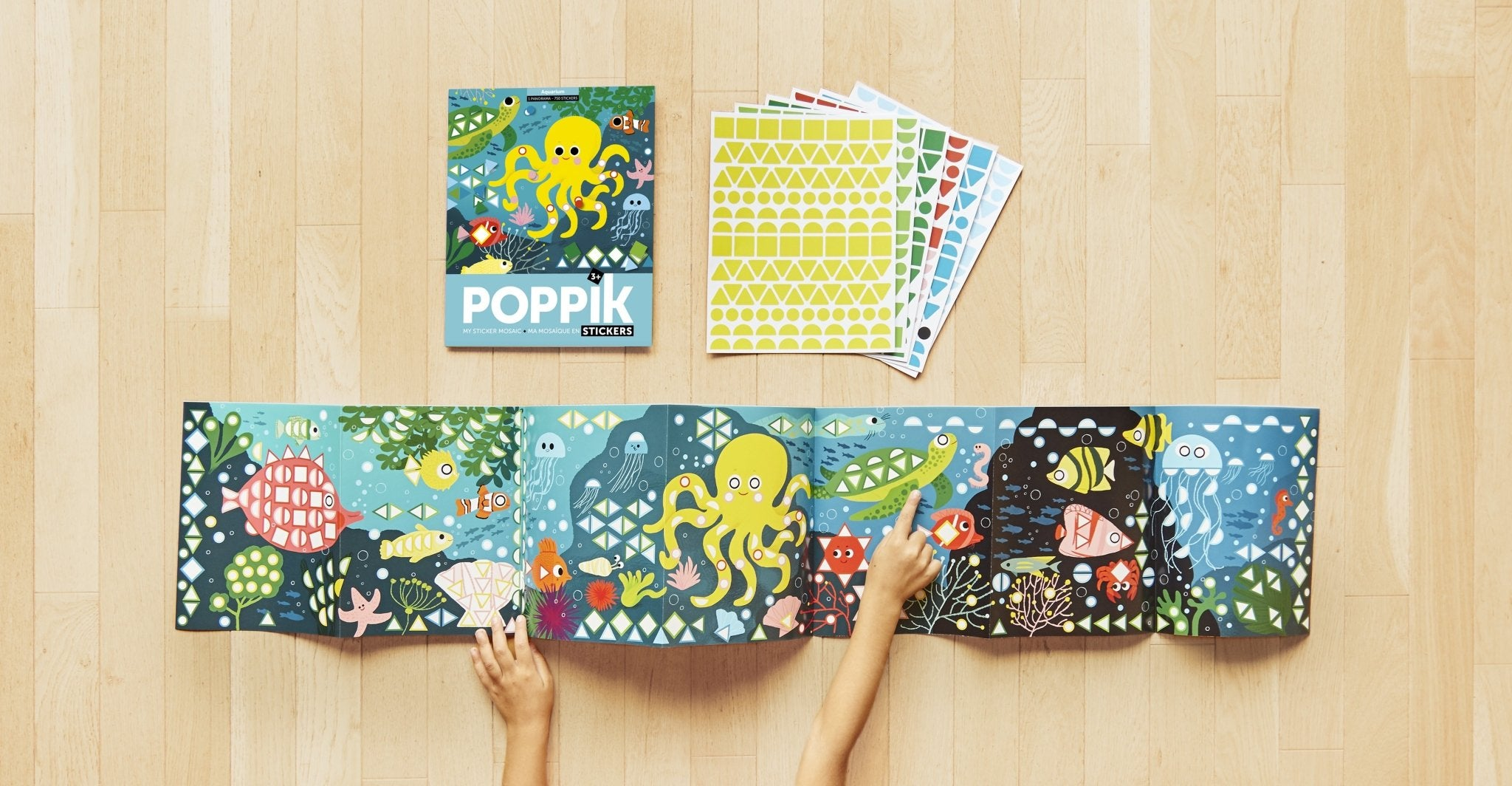 Poppik sticker panarama - Aquarium - The Stationery Cupboard