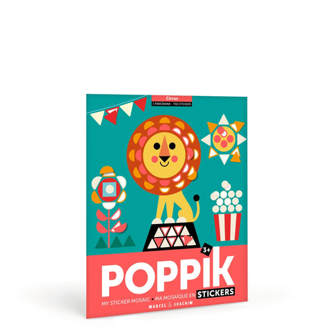 Poppik sticker panarama - Circus - The Stationery Cupboard