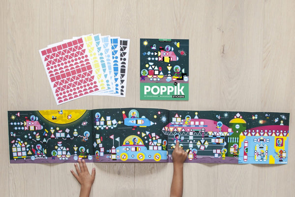 Poppik sticker panarama - Cosmic - The Stationery Cupboard
