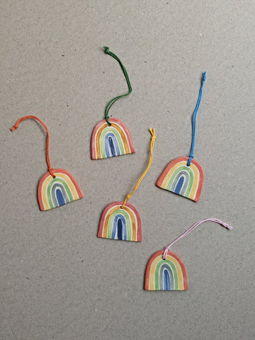 Porcelain rainbow decoration - The Stationery Cupboard