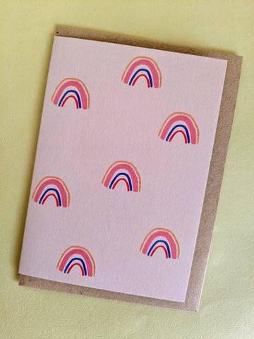 'Rainbow spotting' card - The Stationery Cupboard