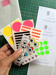 Sticker pack - The Stationery Cupboard
