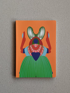 Studio Roof A5 Notebook, Giant Scarab Beetle - The Stationery Cupboard