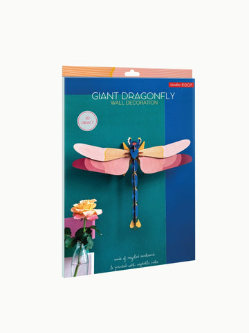 Studio Roof Insect, Wall Decor, Giant Dragonfly - The Stationery Cupboard