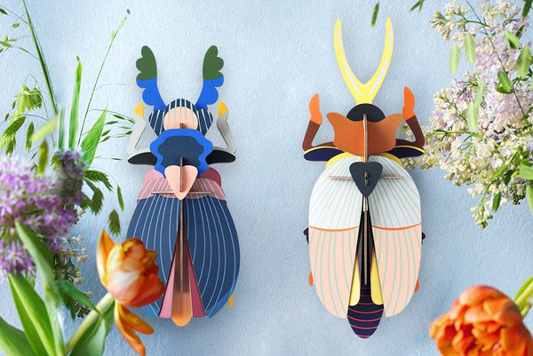 Studio Roof Insect, Wall Decor, Giant Japanese Beetle - The Stationery Cupboard